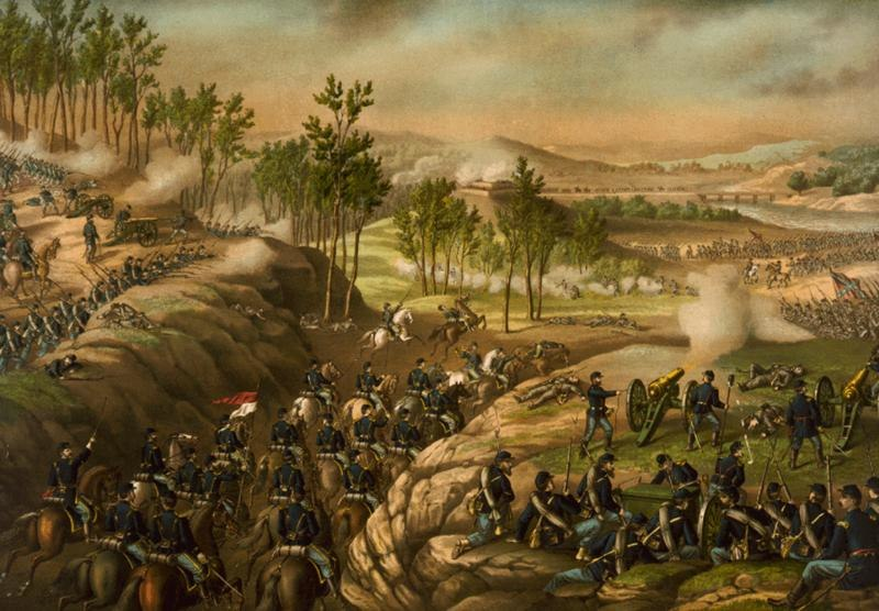 Battle of Resaca 1864 c1889
