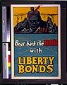 Beat back the hun with liberty bonds - F. Strothmann. LCCN94505100.jpg