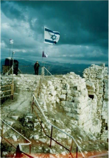 Beaufort Castle IDF Military post south Lebanon