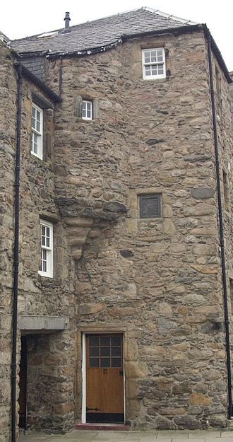 Bede House, Old Aberdeen - Bede House, Old Aberdeen, 1676