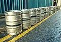 Beer kegs, Belfast - geograph.org.uk - 1072097.jpg