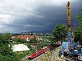 Befestigter Hang nach Hangrutsch an der Rheintalbahn am 9. Mai 2015 in Freiburg-Sankt Georgen am Te.jpg