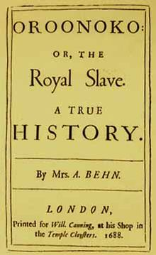 aphra behn oroonoko essay Free essay: paper 1 'oroonoko' by aphra behn and 'the rape of the lock' by  alexander pope the relationship between gender and power.