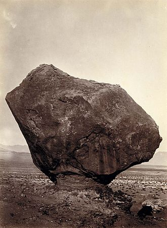 1872 in the United States - Image: Bell, Perched Rock