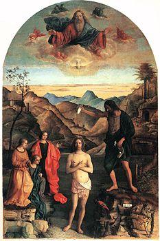 Battesimo Di Cristo Giovanni Bellini Wikipedia