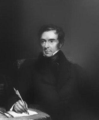 Sir Benjamin Collins Brodie, 1st Baronet - Sir Benjamin Collins Brodie, engraving after Henry Room