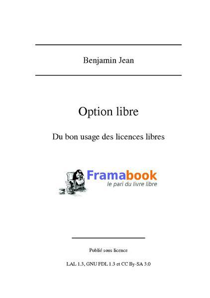 File:Benjamin Jean - Option Libre. Du bon usage des licences libres.pdf