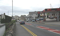 Benllech, The crossroads at the centre of Benllech.jpg