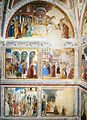 Benozzo Gozzoli - View of the left-hand wall of the chapel - WGA10313.jpg
