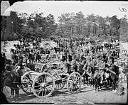 Benson's Battery M at Fair Oaks 1862