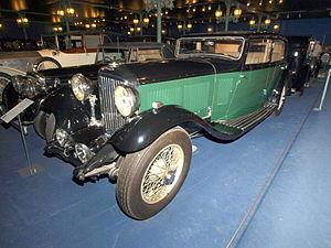 Bentley - Bentley 8 Litre 4-door sports saloon
