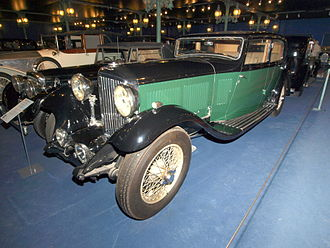 Bentley - Bentley 8 Litre 4-door sports saloon