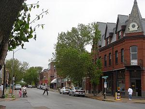 Benton Park West, St. Louis - Image: Bentonpark