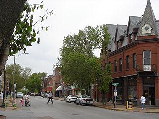 Benton Park West, St. Louis Neighborhood of St. Louis in Missouri, United States