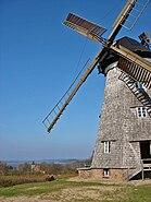 Benz Holländer Windmühle Berg Dorf Schmollensee