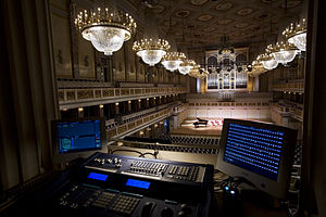 Front of house - Light control room