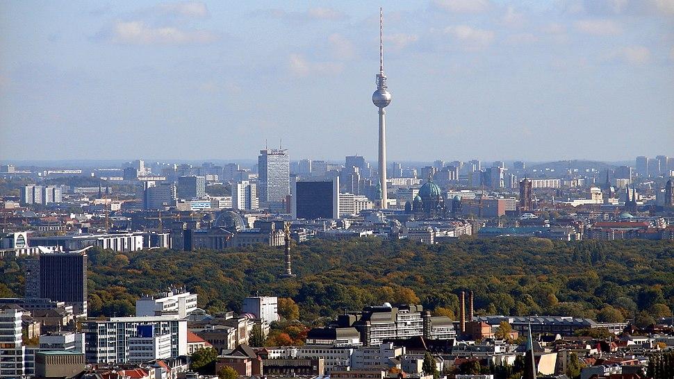 Berlin Skyline Fernsehturm 02
