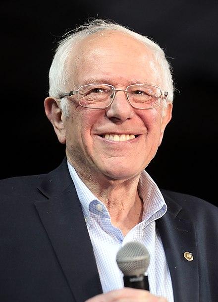 Bernie Sanders in March 2020., From WikimediaPhotos