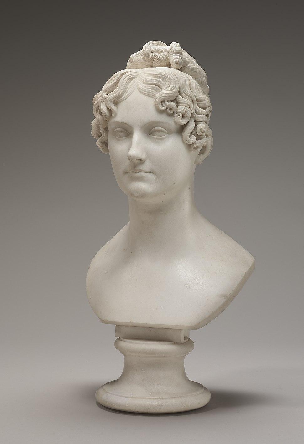 Bertel Thorvaldsen, Possibly Lady Georgiana Bingham, carved c. 1821-1824, NGA 156639
