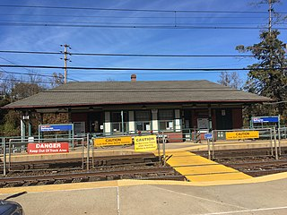 Bethayres station SEPTA Regional Rail station