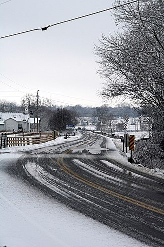 Bethesda, Tennessee - Image: Bethesda Road Tennessee