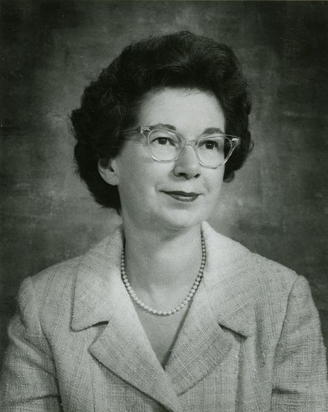 """Beverly Cleary in 1971"" via State Library Photograph Collection, 1851-1990, Washington State Archives, Digital Archives is in the Public Domain"