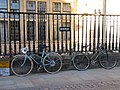 Bicycles on the railings - geograph.org.uk - 2119299.jpg