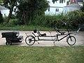 Bike Friday DoubleDay folding recumbent tandem bicycle with trailer.jpg