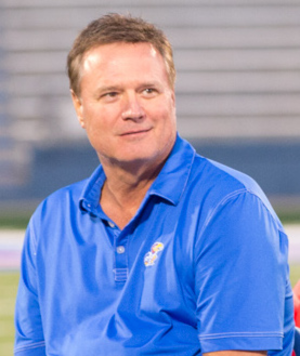 Bill Self - Self during the 2016 Kansas Traditions Night