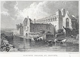 Bishop's Palace, St. David's: Pembrokeshire