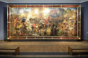 Battle of Grunwald (Matejko) - The Battle of Grunwald displayed in the National Museum in Warsaw
