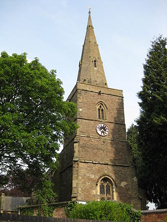 Blaby - All Saints, the parish church