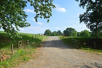 National Register of Historic Places listings in Franklin County, Virginia - Image: Bleak Hill Lane