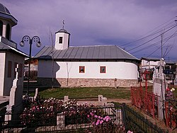 Blejoi, biserica de lemn Sf Nicolae.jpg