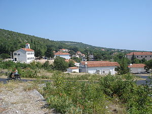 Battle of Bliska - Blizna Donja - the present day look of the place of battle