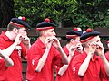 Blow pipers Northern Ireland parade 12 July.jpg