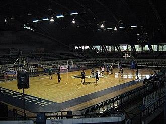 Blue Eagle Gym - Interior