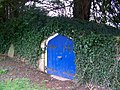 Blue door, St George's Churchyard - geograph.org.uk - 681151.jpg