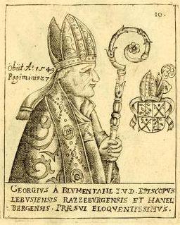 Georg von Blumenthal Prince-bishop