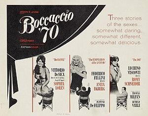 Boccaccio '70 - Original Poster
