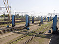 Bogie change station at Chop station Ukraine.jpg