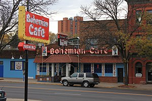 Little Bohemia (Omaha, Nebraska) - The Bohemian Cafe, South 13th Street