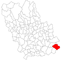 Vị trí của Boldesti-Gradistea