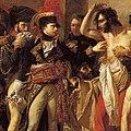 Bonaparte visiting the plague-victims of Jaffa - Mcropped.jpg