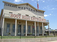 Boot Hill Museum Entrance (Great Western Hotel)