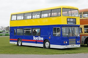 Boro'line Maidstone - Preserved Optare bodied Leyland Olympian in March 2012