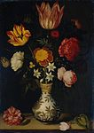 Bosschaert the Elder, Ambrosius - Still Life with Flowers in a Wan-Li vase (1619).jpg