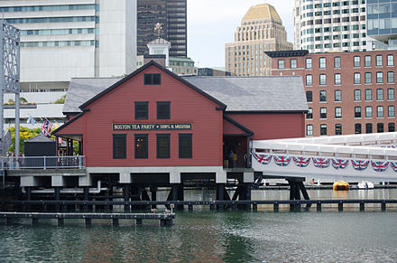 The Boston Tea Party Museum in Fort Point Channel Boston Tea Party Museum.jpg