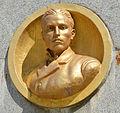 Botevgrad Stamen Panchev relief.JPG