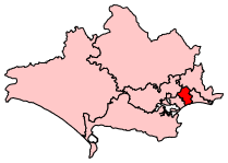 BournemouthWest2007Constituency.svg